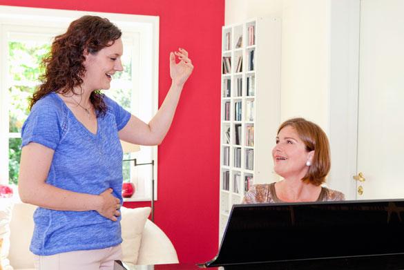 Gesangsunterricht von der Basis bis zum professionellen Gesang