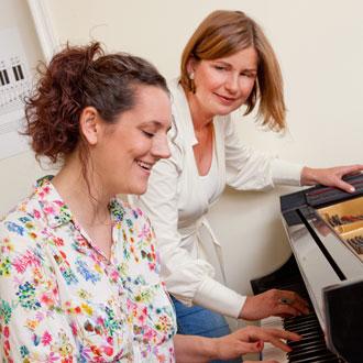 Musiktherapie am Klavier